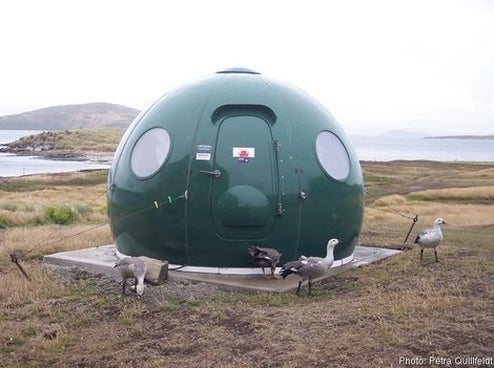 Igloo Satellite Cabin Modular Home Design Is Sarah Palin Approved