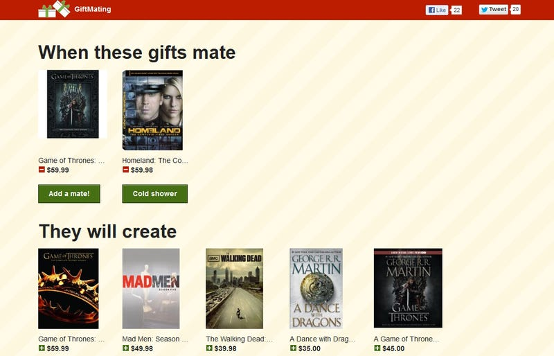 GiftMating Uses Amazon to Help You Find the Perfect Gift