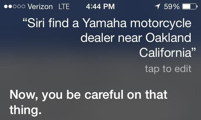​Siri Is Turning Into Your Mother