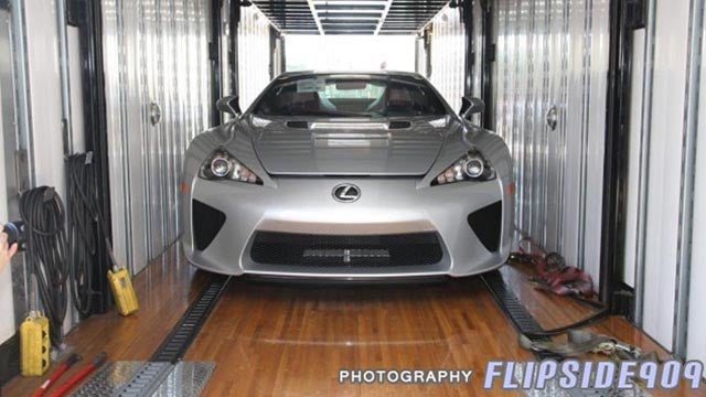 Unboxing The Obsessive Transport Of The Lexus LFA