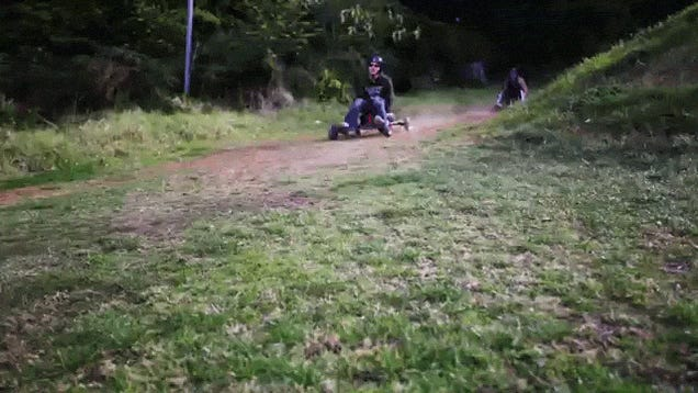 Real life Mario Kart is ridiculously fast and even more fun