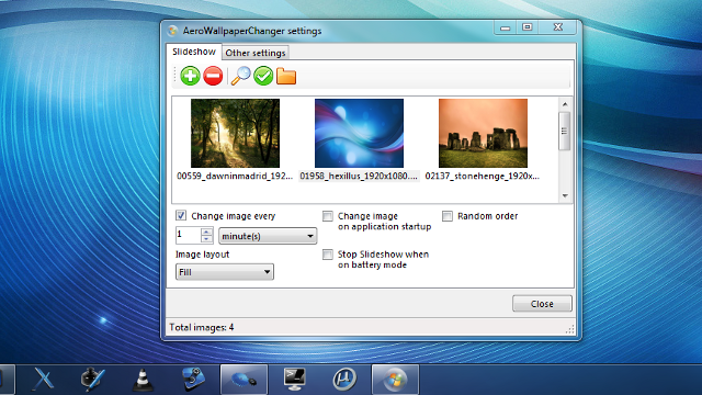 AeroWallpaperChanger Keeps Windows' Color Scheme in Sync with Your Wallpaper