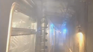 An Enormous Drill Nearly Impaled a Subway Car Full of Passengers