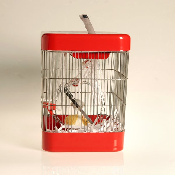 Hamster-Powered Paper Shredder Mark II