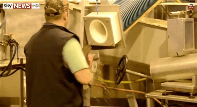 Salmon Cannon Shoots Fish At 22mph