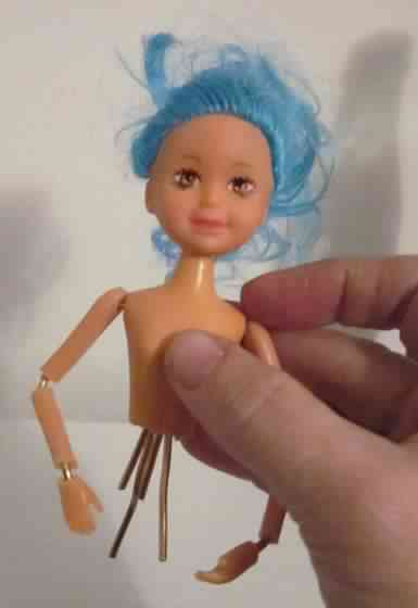 How To Turn A Doll Into An Action Figure