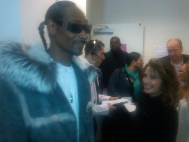 Snoop Dogg & Susan Lucci Hang Out