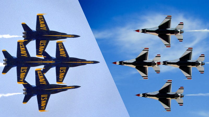 Would You Rather Be a Pilot for the US Navy or the US Air Force?
