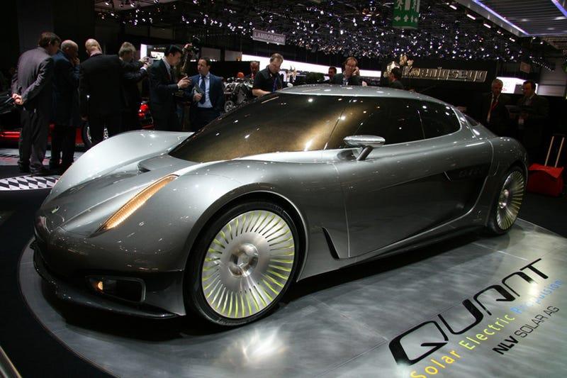 Koenigsegg's Solar Car Is Like an Electric Batmobile