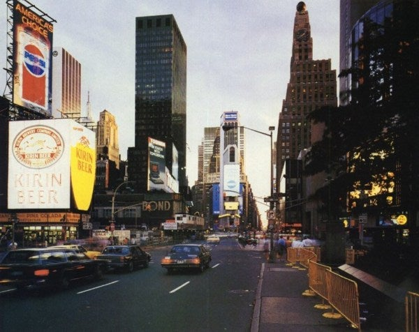 How NYC Transformed Times Square Into a Cultural Icon