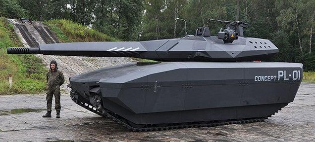 Crean un prototipo de tanque invisible a detección por infrarrojos 658692497041909539
