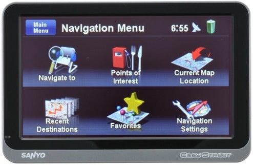 Sanyo Updates EasyStreet GPS: NVM-4370 has 7 Million Interest-Points Preloaded