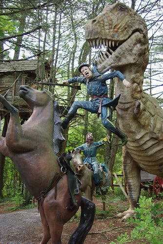 The Alternate History Theme Park Where Dinosaurs Fought in the Civil War