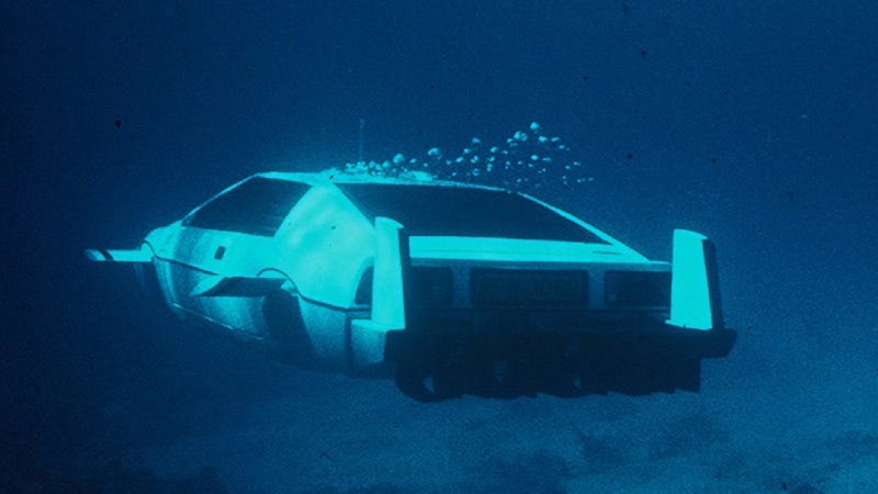 James Bond's Lotus Submarine Can Now Be Mine And You Can't Touch It
