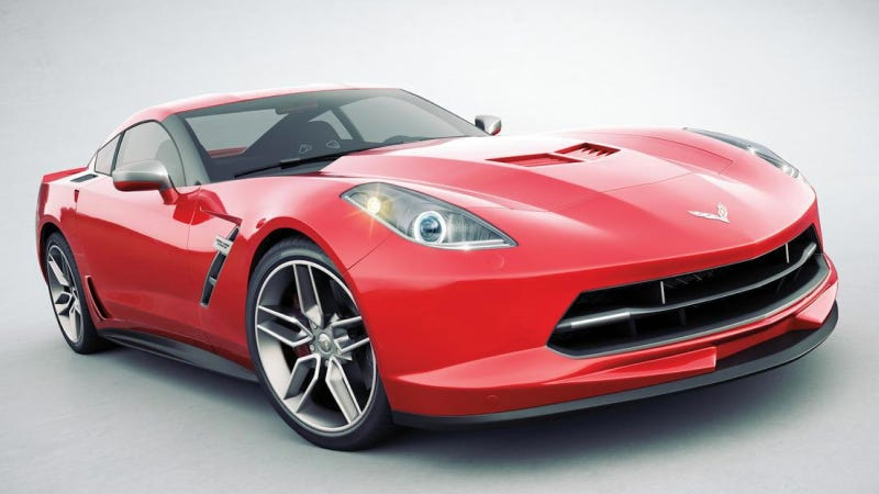 This Might Look Like The 2014 Corvette, But It Isn't