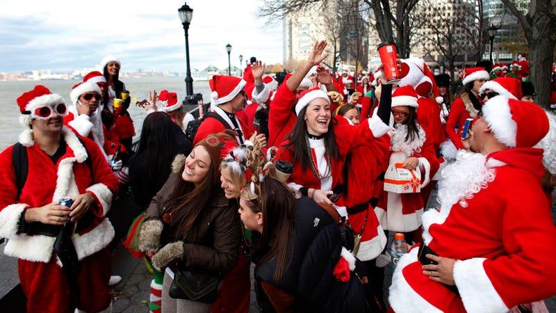 Santas Gone Wild