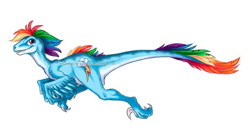 It's Okay, They Aren't Ponies -- They're Raptors.
