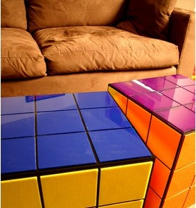 "Rubik's Cube Coffee Table Makes Your Apartment ""Cool"""