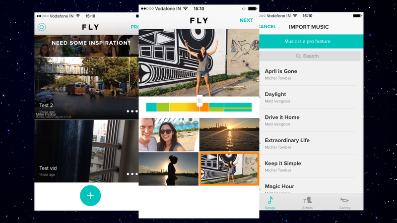 Fly Simplifies Stitching and Editing iPhone Videos