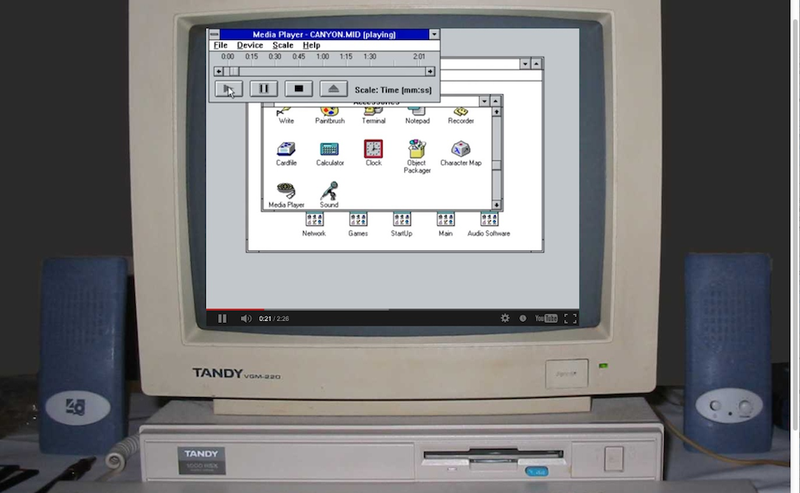 This Tribute To Windows' Greatest MIDI Hit Is Like A Tiny Time Machine