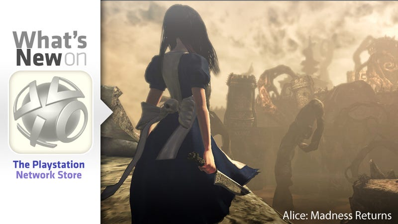 Alice: Madness Returns, Red Faction: Armageddon, Megadeth New This Week on the PlayStation Store