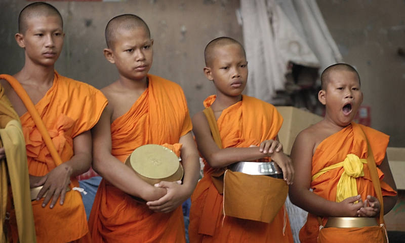 Teenage Monks Being Mad Disrespectful of Monkhood Stuff Right Now