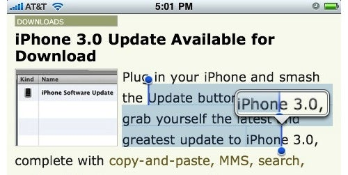 Hands On with iPhone 3.0's Best New Features