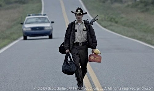 First Image of Walking Dead's Rick Grimes, post-apocalyptic American hero