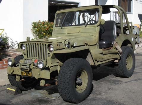 1945 Ford GPW Jeep