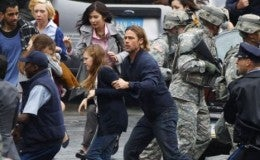 World War Z Set Pictures