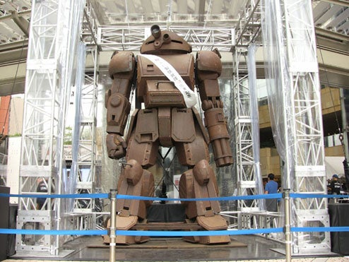 Lifesize Scopedog Mecha Towers Over Iron and Steel Celebration