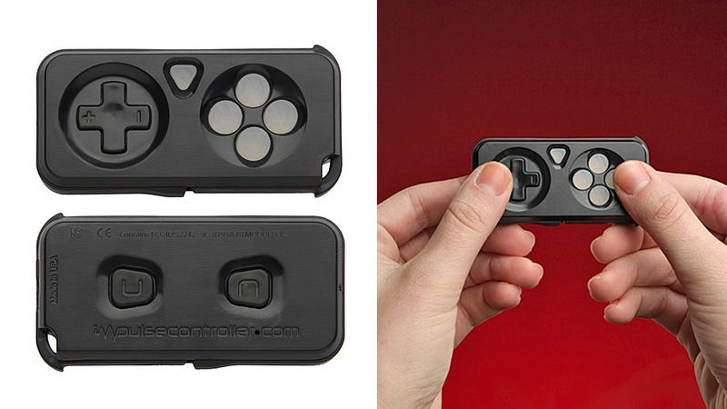 A Tiny Controller That's Always On Hand To Improve Touchscreen Gaming