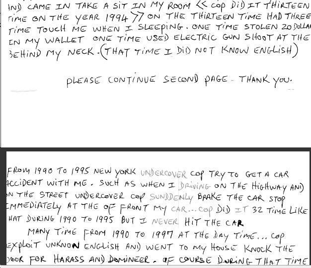Binghamton Killer's Polite, Deranged Letter
