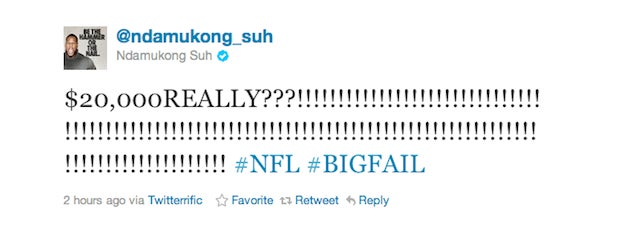 I Hope Andy Dalton's Head Was Worth $20K To Ndamukong Suh