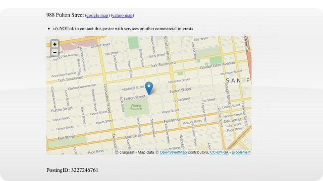 Craigslist's New Embedded Maps Will Make Apartment Hunting Way Less of a Clusterfrak