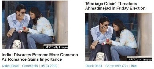 Huffington Post's Generic 'Brown Couple' Picture