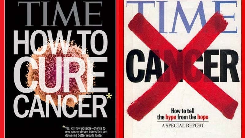 "Time magazine's ""How To Cure Cancer"" cover is just awful"