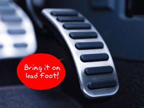 Nissan's Eco Gas Pedal Fights Back To Help You Save Gas