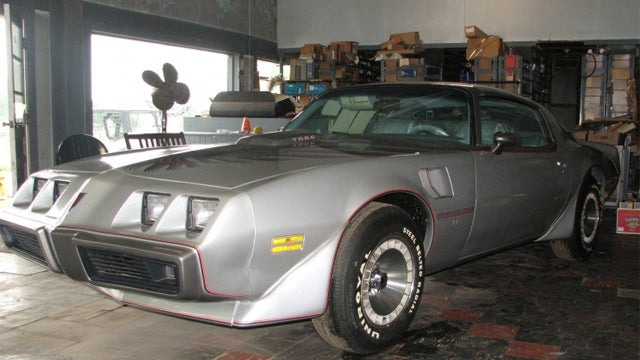 One last chance at a brand new 1979 Pontiac Trans Am from the showroom floor