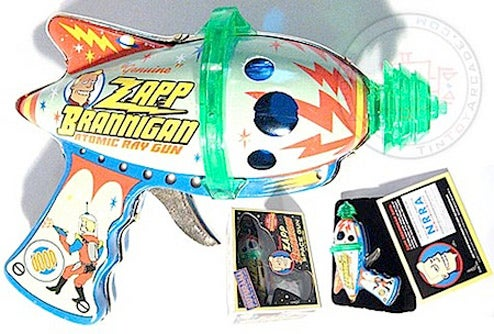 Zapp Brannigan Ray Gun For Sale (Only Shot Once At Disgruntled Underling)