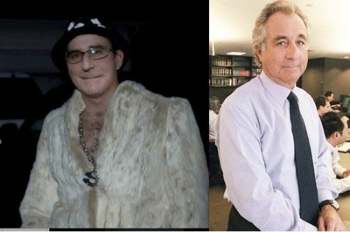 Is This Bernie Madoff Dressed As a Pimp?