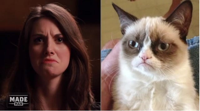 Alison Brie Versus the Internet: Imitates Popular Memes, Tries to Create Her First Unsexy GIF
