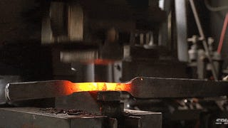 Video: Shattering and then reforging the sword from <i>Lord of the Rings</i>