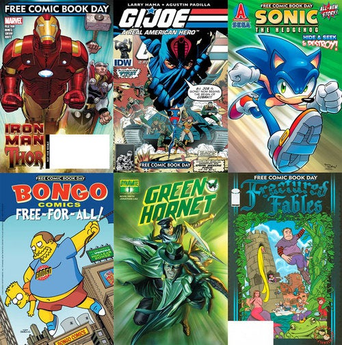 Reminder: Tomorrow Is Free Comic Book Day