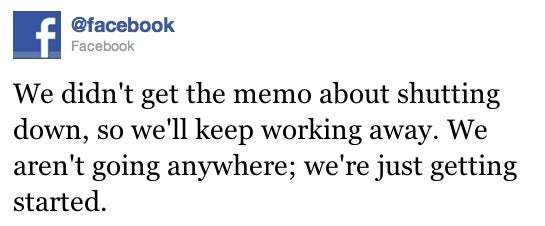 Facebook Apocalypse Rumor Terrifies Internet