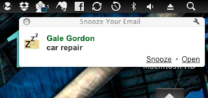 Snooze Your Email Reminds You of Important Emails Later On