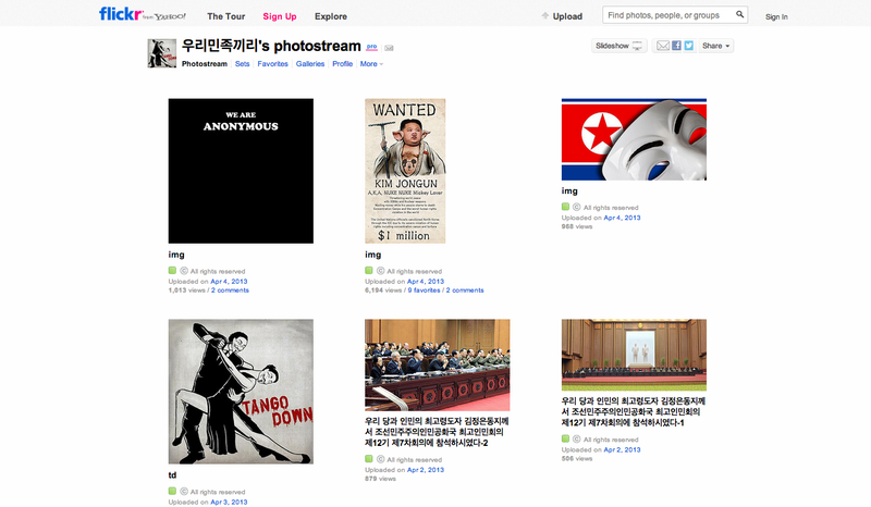 North Korea's Twitter and Flickr Accounts Have Been Hacked