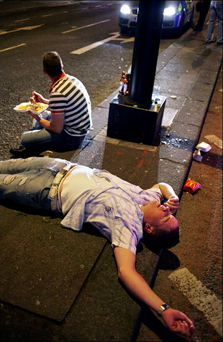 Researchers Create Computer Models of Staggering Drunks to Aid City Planning