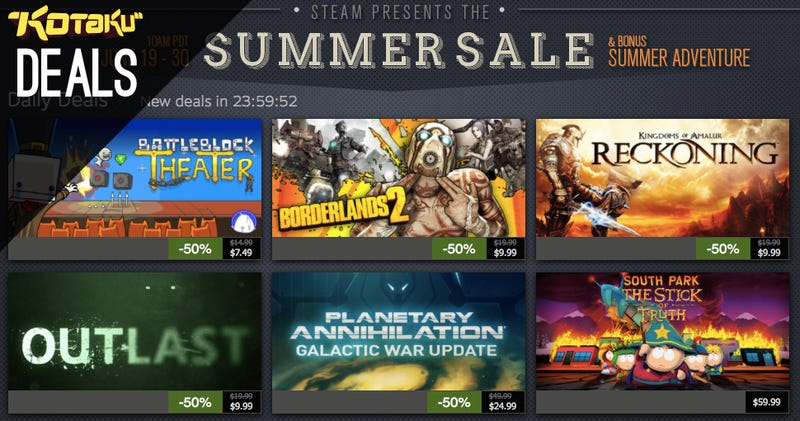 Steam Summer Sale Day 4, New Humble, The Best Deals for June 22, 2014