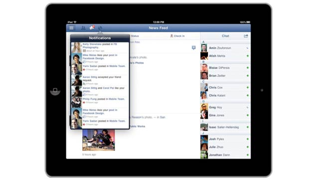 The Official Facebook App for iPad Is Finally Here